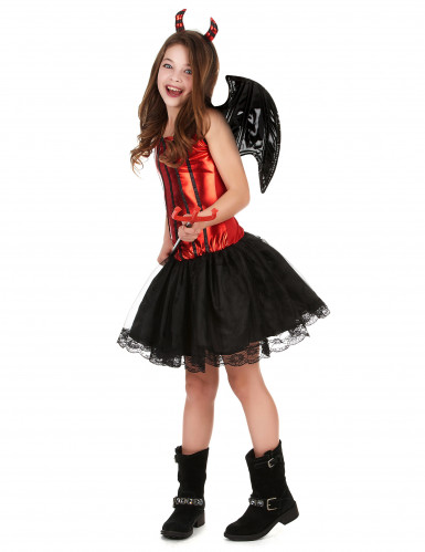 Disfraz de diablesa para niña