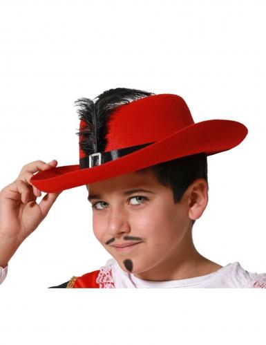 Sombrero de mosquetero para niño