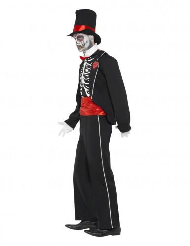 Disfraz de esqueleto elegante Halloween-2