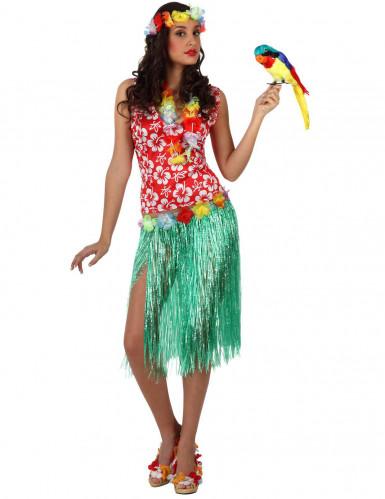 Disfraz de hawaiana  para adulto