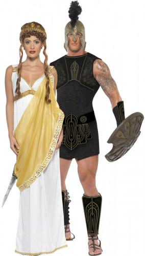 Disfraz de pareja Atila y Helena de Troya