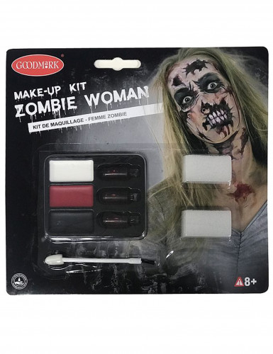 Kit de maquillaje zombie ideal Halloween-1