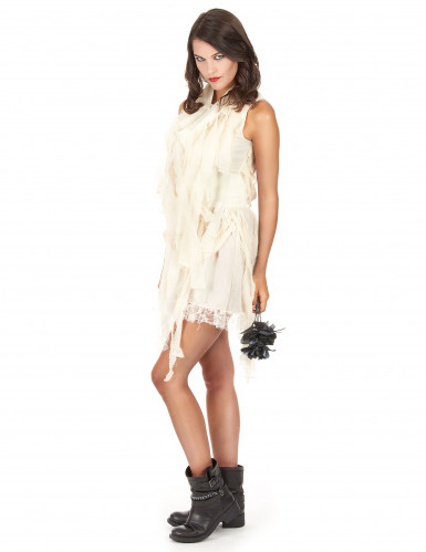 Disfraz de momia gótica para mujer-2