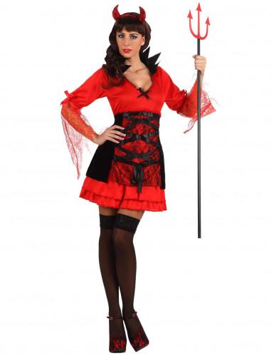 Disfraz de diablesa sexy para mujer