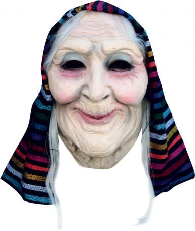 Máscara de vieja