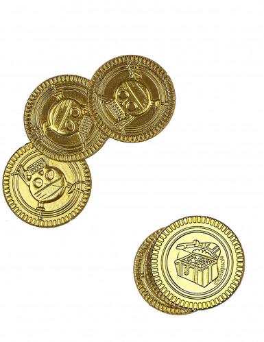 30 Monedas doradas calavera