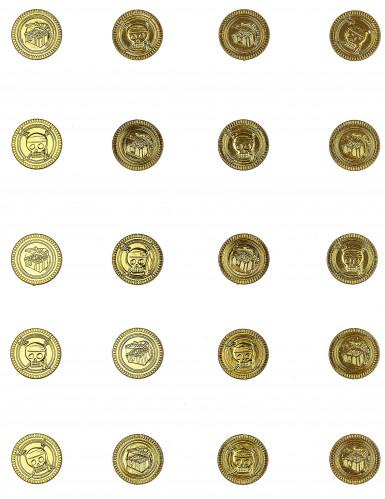30 Monedas doradas calavera-1