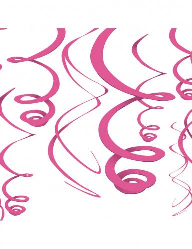 Decoración colgante rosa