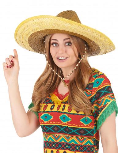 Sombrero mejicano amarillo-2