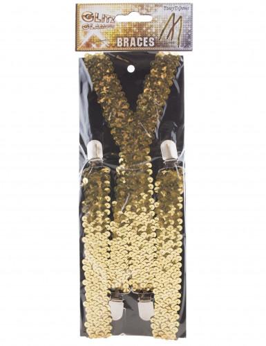 Tirantes lentejuelas dorado-1