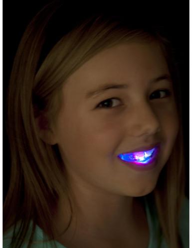 Dentadura luminosa con LED