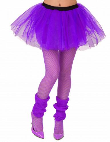 Tutú violeta mujer