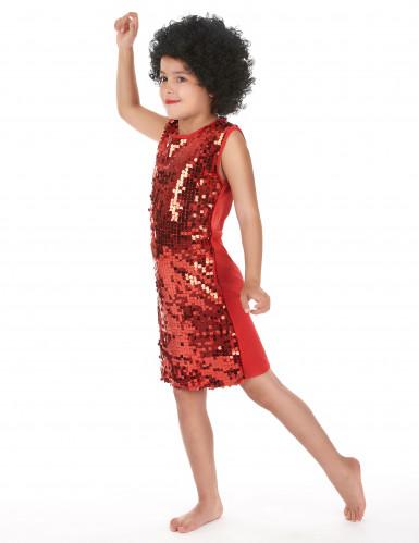Disfraz disco rojo para niña-1