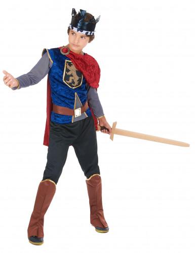 Disfraz de rey medieval infantil-1