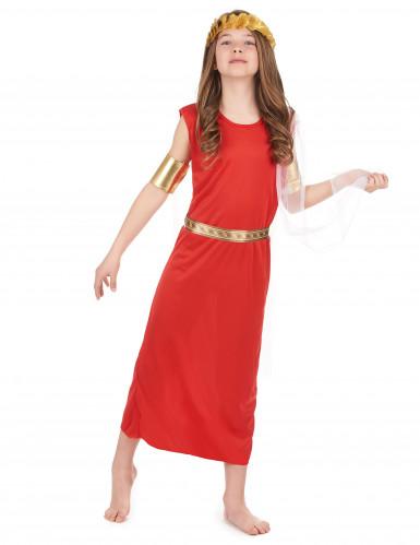 Disfraz de romana niña