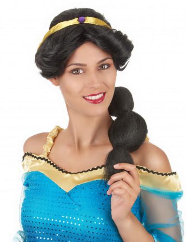 Peluca de princesa oriental mujer