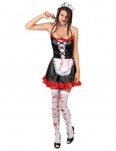 Disfraz de criada sangrienta-1