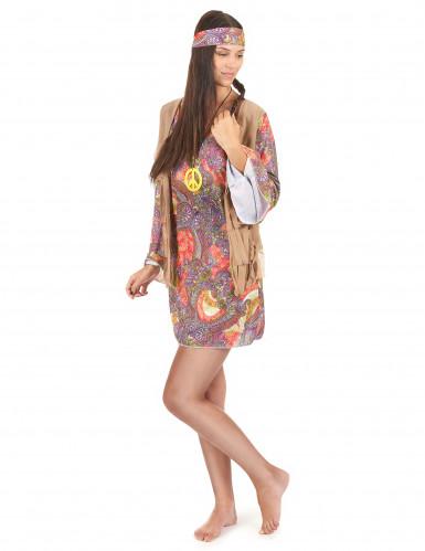 Disfraz de hippie mujer-1