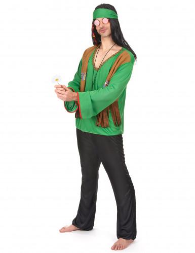 Disfraz de hippie verde-1
