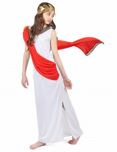 Disfraz de diosa romana niña-1