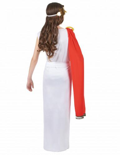 Disfraz de diosa romana niña-2