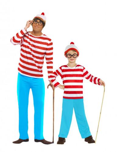 Disfraz de pareja ¿Dónde está Wally?