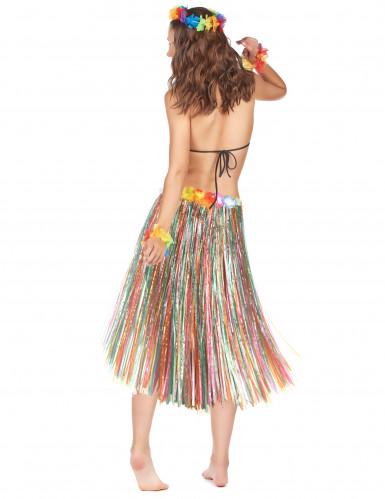 Falda multicolor Hawái-1