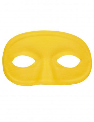 Antifaz amarillo adulto