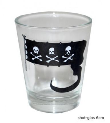 Vaso chupito pirata decoraci n y disfraces originales for Vaso chupito
