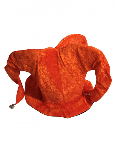 Sombrero de bufón naranja