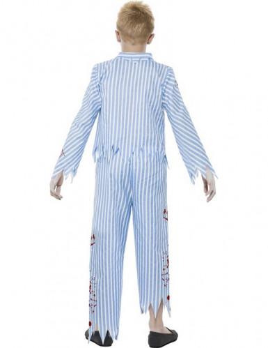 Disfraz de zombie en pijama para niño-2