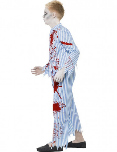 Disfraz de zombie en pijama para niño-1