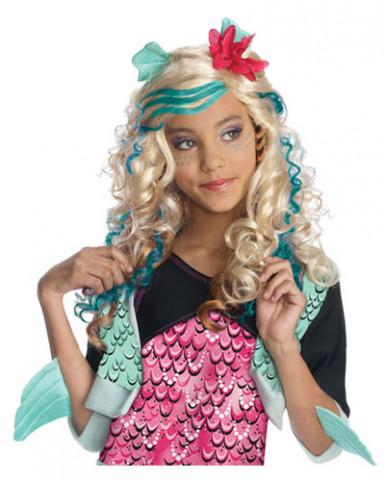 Peluca Lagaoona Azul Monster High™ niña