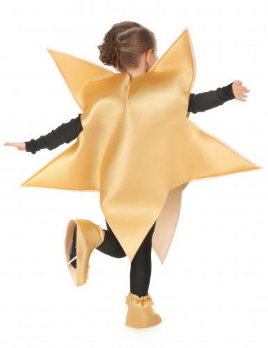 Disfraz de estrella dorada infantil-2