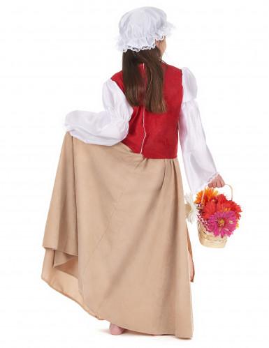 Disfraz de campesina medieval-2