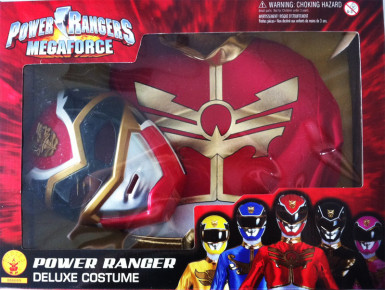 Disfraz Power Rangers Megaforce™  rojo infantil caja-1