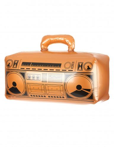 Radio inflable dorada