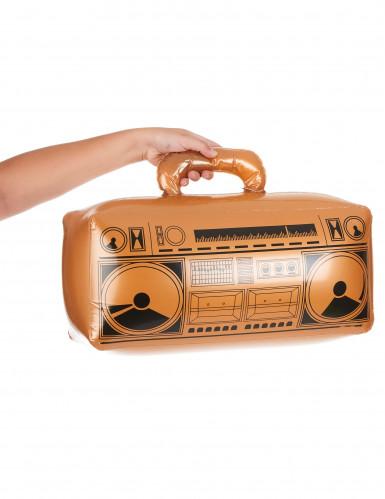 Radio inflable dorada-1
