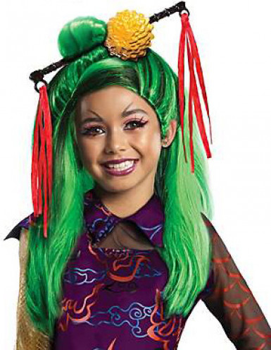 Peluca Jinafire Monster High™ niña