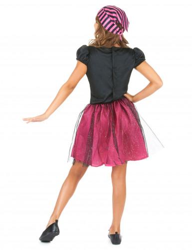 Disfraz de pirata rosa niña-2