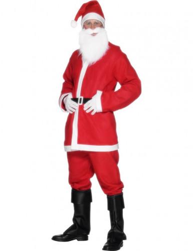 Disfraz Papa Noel con barba