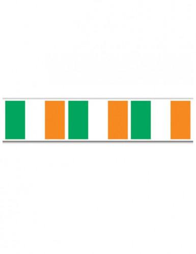 Guirlanda bandera irlandesa St Patrick