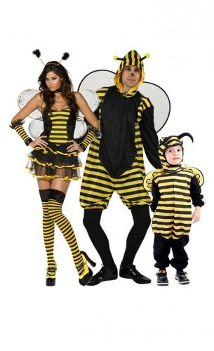 Disfraz de familia abeja