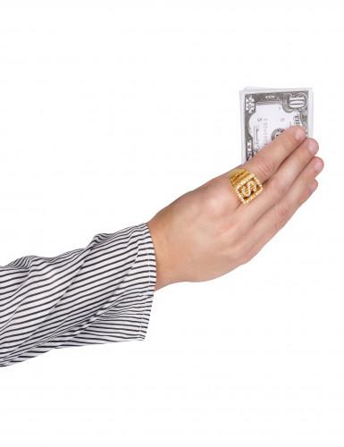 Anillo dólar brillantes adulto-1