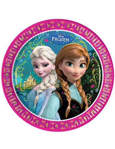 8 Platos de Frozen™ 23 cm