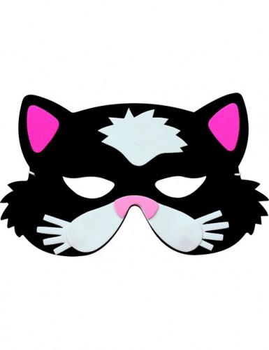 Máscara de gato niño