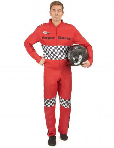 Disfraz piloto de carreras hombre