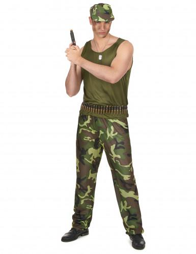 Disfraz militar para hombre