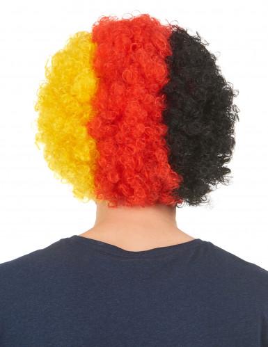 Peluca de hincha Alemania adulto-1