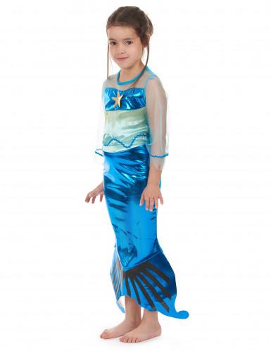 Disfraz sirena de los mares niña-1